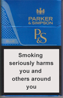 Parker & Simpson Blue Cigarettes