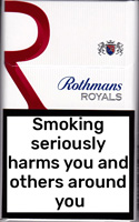 Rothmans Royals KS Red Cigarettes