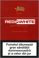Red&White Super Slims Rich Cigarettes